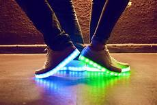 Led Lights To Wear Light Up Sneakers Are Back On Their Feet