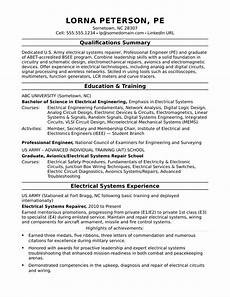 Systems Engineer Resume Sample Resume For A Midlevel Electrical Engineer Monster Com