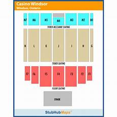 Caesars Windsor Colosseum Seating Chart Caesars Windsor Events And Concerts In Windsor Caesars