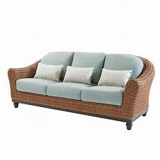 Brown Wicker Sofa 3d Image by Home Decorators Collection Fra60624atsw Camden Light Brown