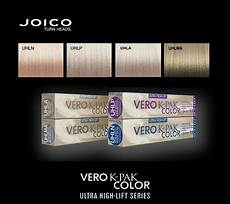Joico Vero K Pak Hair Color Chart Joico Vero K Pak Color Ultra High Lift Colors