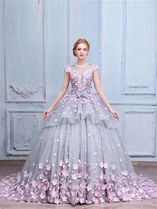 dresses by luxury prom dresses scoop gown lace made flower