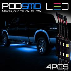 Blue Underbody Light Kit Rock Led Lights Under Car Blue Accent Underbody Neon Glow