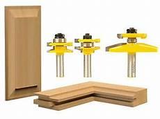 3 bit raised panel cabinet door router bit set bevel 1 2
