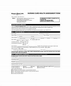 Nursing Assessment Forms Free 7 Sample Nursing Assessment Forms In Pdf Ms Word