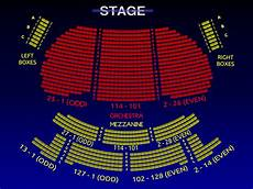 Seating Chart Eugene O Neill Theatre The Eugene O Neill Theatre All Tickets Inc