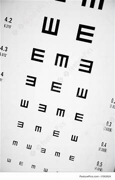 Eye Exam Reading Chart Eye Exam Chart Stock Image I1562624 At Featurepics