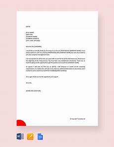 10 thank you letter to recruiter pdf doc free