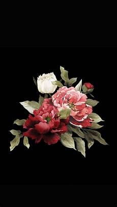 flower arrangements iphone wallpaper bouquet on black fondos de pantalla black fondo de
