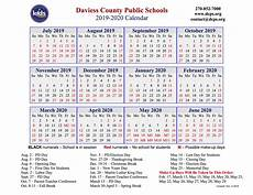 2020 Calendar With Dcps Approves 2019 2020 Calendar The Owensboro Times