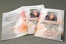 Memorial Pamphlet Template Free Funeral Program Template V195 Brochure Templates