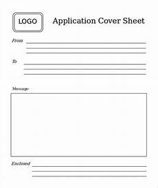 Job Application Cover Sheet 7 Basic Fax Cover Sheet Templates Free Sample Example