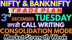 Nifty Option Premium Chart Bank Nifty Amp Nifty Tomorrow 03rd December 2019 Daily Chart