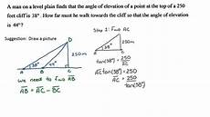 Trigonometry Ratios Primary Trigonometric Ratios Example Problem Youtube