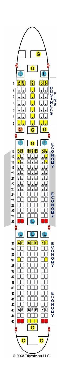 Boeing 767 400 Seating Chart Matthew Price