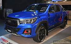 2019 Toyota Hilux by Tas 2019 Toyota Hilux Black Rally Edition Previewed