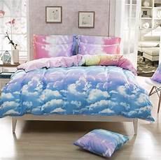 bedding set clouds duvet cover sets pillowcase