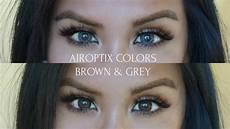 Air Optix Color Chart Air Optix Colors In Brown Amp Grey Youtube