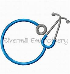 Stethoscope Designs Stethoscope Monogram Frame Machine Embroidery Design