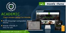 Moodle Mobile Themes Academic Responsive Moodle Theme By Cmsbrand Themeforest