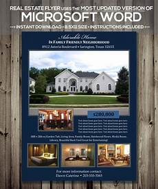 Free Flyer Templates For Word Real Estate Flyer Template Microsoft Word Docx Version