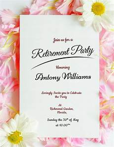 Retirement Party Invitation Template Free 8 Retirement Party Invitations Psd Ai Free Amp Premium