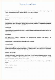 Sample Executive Summary Template 5 Executive Summary Templates For Word Pdf And Ppt