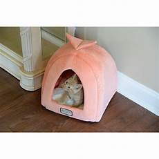 armarkat cat bed in orange and ivory reviews wayfair