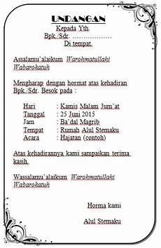 download template undangan hajatan tasyakuran tahlil dll
