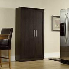 sauder door storage cabinet large dakota oak