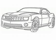 Malvorlagen Auto Kostenlos Ausdrucken Word Camaro Sports Car Coloring Pages Convertible Cars
