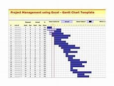 Free Gantt Chart Excel Template With Subtasks 37 Free Gantt Chart Templates Excel Powerpoint Word