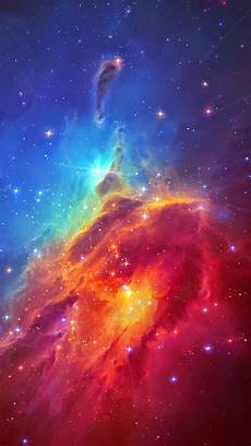 Space Iphone 7 Plus Wallpaper by Stunning Colorful Space Nebula Iphone 7 Wallpaper