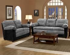 bulldozer graphite black sofa and loveseat living room sets