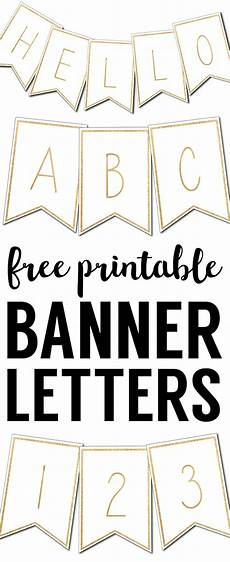Letters Template Free Free Printable Banner Letters Templates Paper Trail Design