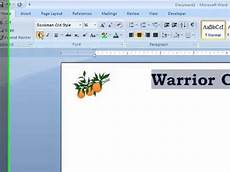 How To Design Letterhead In Word Word How To Create Letterhead In A Word Document Youtube