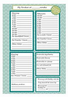 Babysitter Notes Template Printable Babysitter Note Sheet For My Payton