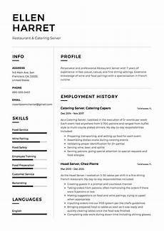 Restaurant Resume Full Guide Restaurant Server Resume 12 Pdf Examples 2019
