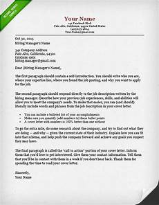 What To Say In A Covering Letters 40 Battle Tested Cover Letter Templates For Ms Word