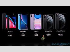 iPhone 11, Pro, Max release date, preorder, and price