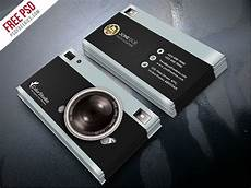 Business Card Photography Photography Business Card Template Free Psd Psdfreebies Com