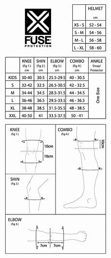 Shin Pads Size Chart Fuse Delta Knee Shin Ankle Combo Pads At Albe S Bmx