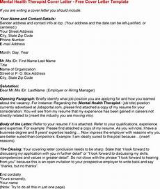 Cover Letter Mental Health Worker Pin On Mental Health