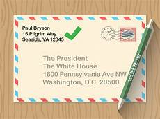 Address Letters Simple Ways To Address The President In A Letter 7 Steps