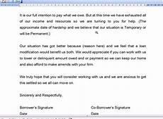 Hardship Letter Loan Modification Loan Modification Hardship Letter Youtube