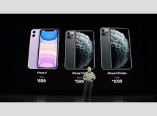 New iPhone 11, iPhone 11 Pro and iPhone 11 Pro Max prices
