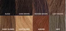 Different Shades Of Brown Hair Colour Chart A Guide To Different Hair Types And Color Girlsaskguys