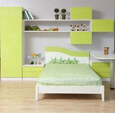 Cherfan Design Attractive And Beautiful Kids Bedroom Interior With A Bed