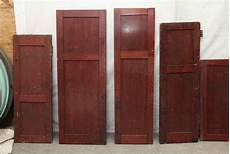 narrow birch wood cabinet door olde things