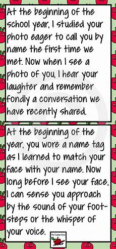 Letters To Teachers From Students End Of Year Letter From Your Teacher Editable Letter To
